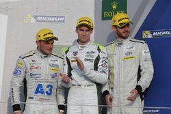 Симон Труммер, Джеймс Росситер и Оливер Уэбб, #4 ByKolles Racing CLM P1/01 - третье место