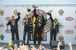 Tim Wilkerson, Andrew Hines, Jason Line, Brittany Force