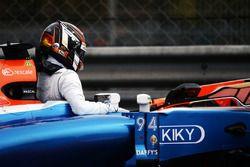 Unfall: Pascal Wehrlein, Manor Racing MRT05