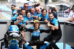 Polesitter Nicolo Bulega, Sky Racing Team VR46