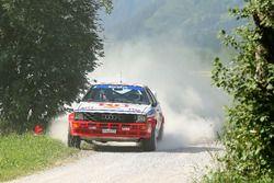 #48 Johann Holzmüller,Stefan Langthaler, Audi quattro