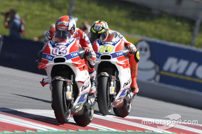 Bataille interne chez Ducati