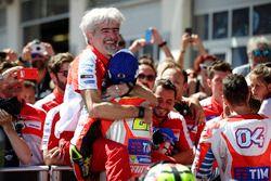 Gigi Dall'Igna, Ducati Corse General Manager, Andrea Iannone, Ducati Team