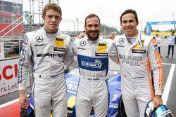 Qualifying: Polesetter Gary Paffett, Mercedes-AMG Team ART, Mercedes-AMG C63 DTM;third Paul Di Resta