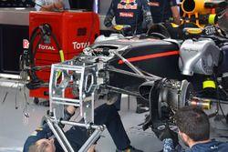 Détails de l'avant de la Red Bull Racing RB12