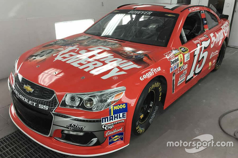 Throwback-Design von Clint Bowyer, HScott Motorsports, Chevrolet