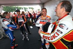 Mike Doohan, Graeme Crosby, Colin Edwards, Wayne Gardner