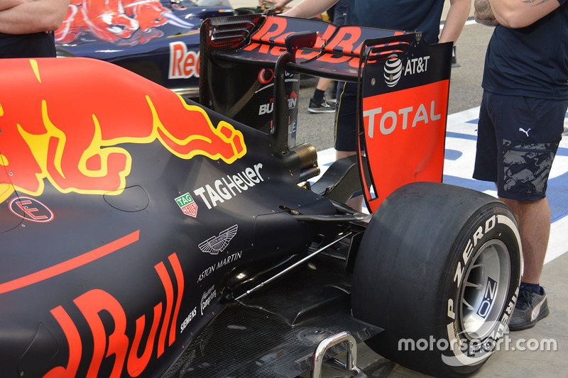 Red Bull Racing RB12, Heck-Detail