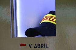 Pirelli-Kappe von Vincent Abril, Bentley Team M-Sport