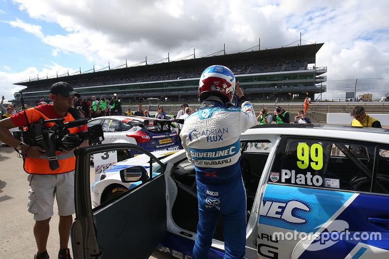 Third place Jason Plato, Silverline Subaru BMR Racing