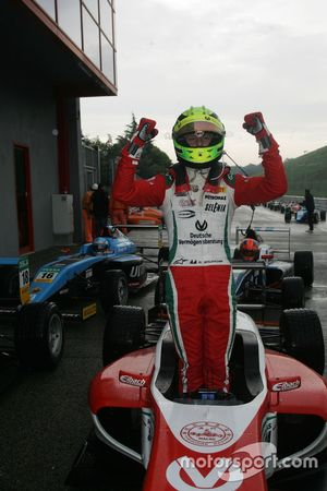 Il vincitore Mick Schumacher, Prema Powerteam
