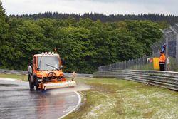 Suspensión de la carrera en Nürburgring