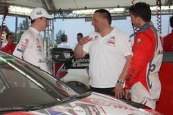 Stéphane Lefebvre, Citroën DS3 WRC, Abu Dhabi Total World Rally Team con Yves Matton, Citroën Motorsport Director