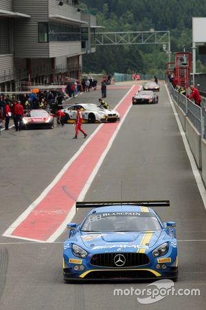 #00 AMG Team Black Falcon Mercedes AMG GT3: Bernd Schneider, Yelmer Buurman, Maro Engel