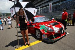 Chica de la parrilla para Petr Fulín, Mulsanne Racing, Alfa Romeo Giulietta TCR