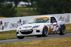 #34 Alara Racing Mazda MX-5: Christian Szymczak, Bob Stretch