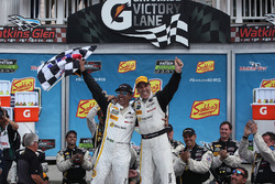 Race winners Joao Barbosa, Christian Fittipaldi, Action Express Racing