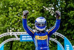 Ganador de la carrera Nicolas Prost, Renault e.Dams