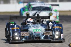#88 Starworks Motorsport ORECA FLM09: Sean Johnston, Maro Engel, Michael Lyons