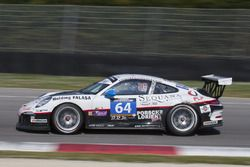 #64 Porsche Lorient Racing, Porsche 991 Cup: Pascal Gibon, Christophe Bourret, Philippe Polette, Fré