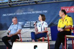 Dave Ryan, Director de carreras de carreras de Manor, Claire Williams, Williams diputado Director, F