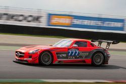 #777 MP Sports Mercedes SLS AMG GT3: Martin Prokop, Robert Kubica, Quirin Müller, Paul White, Thomas