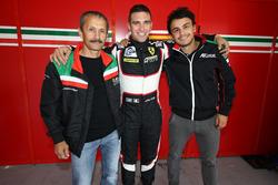 Pole position in LM GTE for #56 AT Racing Ferrari F458 Italia: Alexander Talkanitsa Sr., Alexander Talkanitsa Jr., Alessandro Pier Guidi