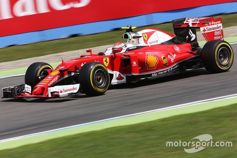 5: Kimi Raikkonen, Ferrari SF16-H