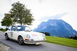 Lukas Pittschieler ve Georg Pittschieler, Porsche 911 E Targa Bj. 1969