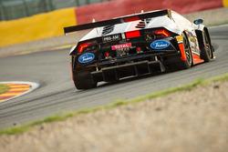 #38 Antonelli Motorsport, Lamborghini Huracan GT3: Michela Cerruti, Loris Spinelli, Gianluca Giraudi