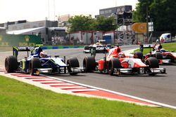 Марвин Кирхгофер, Carlin, и Пьер Гасли, Prema Racing