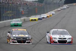 Tony Stewart, Stewart-Haas Racing, Ryan Newman, Richard Childress Racing Chevrolet