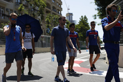 Philo Paz Armand, Trident & Luca Ghiotto, Trident walk the track