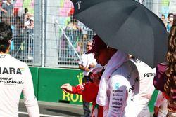 Lewis Hamilton, Mercedes AMG F1, grid