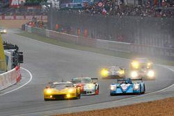 #63 Corvette Racing Chevrolet Corvette C7-R: Jan Magnussen, Antonio Garcia, RickyTaylor and #28 Peg