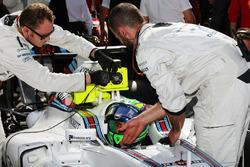 Фелипе Масса, Williams FW38 на стартовой решетке