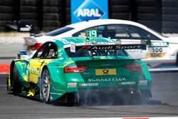 Mike Rockenfeller, Audi Sport Team Phoenix, Audi RS 5 DTM spins