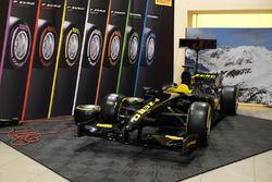 Une monoplace de test Pirelli