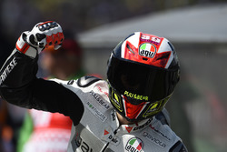 Winner Francesco Bagnaia, Aspar Team Mahindra