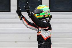 Il vincitore Jehan Daruvala, Josef Kaufmann Racing