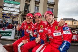 #71 AF Corse, Ferrari 488 GTE: Davide Rigon, Andrea Bertolini, Sam Bird
