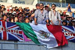 Fans aus Mexiko auf der Tribüne