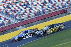 Ty Dillon, Richard Childress Racing Chevrolet, B.J. McLeod, Ford