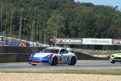 #64 Team TGM Porsche Cayman GT4: Ted Giovanis, Guy Cosmo