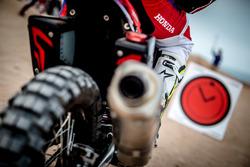 Honda bike detail