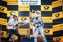 Podium: Gary Paffett, Mercedes-AMG Team ART, Mercedes-AMG C63 DTM; Robert Wickens, Mercedes-AMG Team