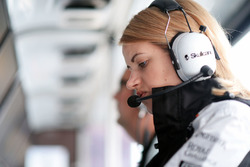 Bernadette Collins, Sahara Force India F1, Performance- und Strategieingenieurin