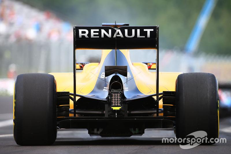 Esteban Ocon, Renault Sport F1 Team, en la PL1 del GP de Hungría 2016