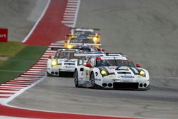 #911 Porsche Team North America, Porsche 911 RSR: Nick Tandy, Patrick Pilet; #912 Porsche Team North