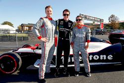Simon Pagenaud, Team Penske Chevrolet, Peter Townley, Andi Gutierrez